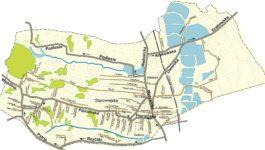 Nazewnictwo ulic w sołectwach gminy Tomice – mapy