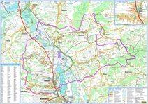 Turystyczno-przyrodnicza mapa gminy Tomice