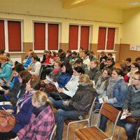 Wizyty studentów uniwersytetu rolniczego w gminie Tomice