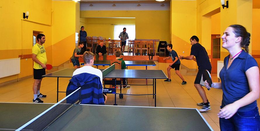 Radockie turniejowe zmagania w tenisie stołowym
