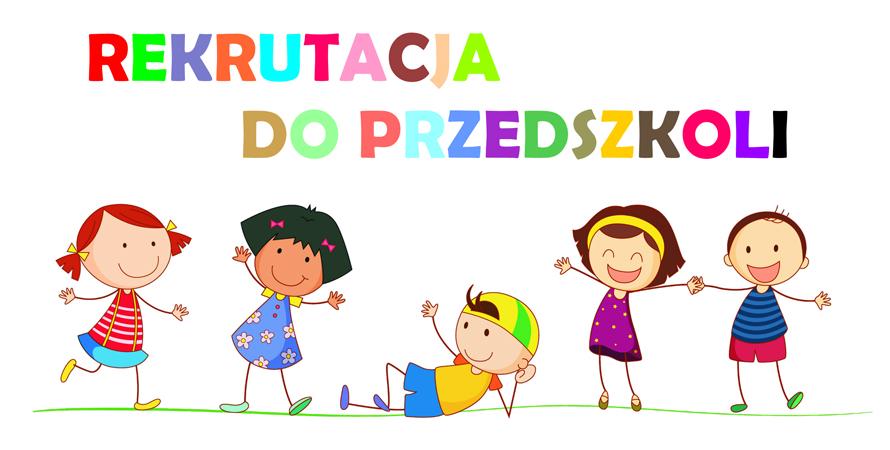 Rusza nabór do przedszkola i oddziałów przedszkolnych