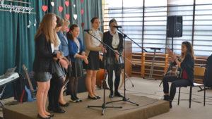 Walentynkowy konkurs piosenki obcojęzycznej w ZSCKU w Radoczy