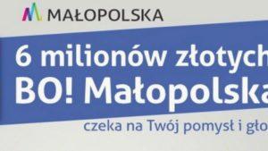 6 projektów z powiatu w budżecie obywatelskim małopolski