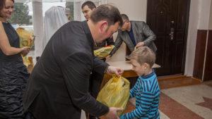 Pierwsze dary przekazane dla dzieci z Ukrainy