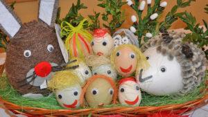 """Nagrodzeni w konkursie """"Kolorowa Wielkanoc"""""""