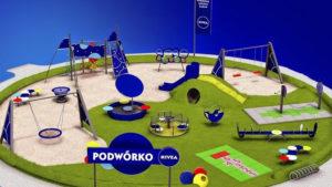 """Głosujmy na """"Podwórko Nivea"""" w gminie Tomice"""
