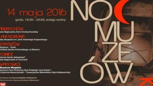 Szósta noc muzeów – zaproszenie do gminy Tomice