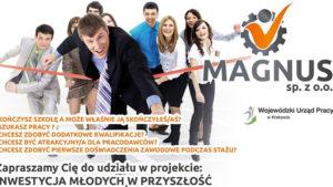 Rekrutacja do projektu inwestycja młodych w przyszłość