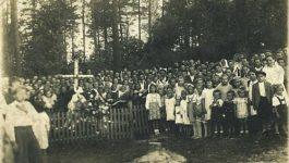 Dzieje obelisku lotników USA w Zygodowicach
