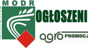Ogłoszenie Ośrodka Doradztwa Rolniczego w Wadowicach