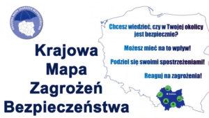 """Ruszyła """"Krajowa Mapa Zagrożeń Bezpieczeństwa"""""""