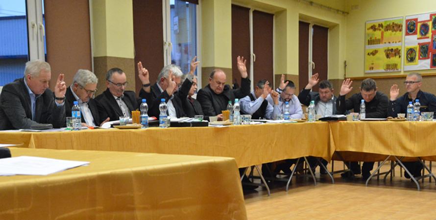 XXI sesja Rady Gminy Tomice VII kadencji