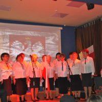 IV Festiwal Piosenki Patriotycznej w Ośrodku Kultury Gminy Tomice