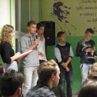 Holenderscy goście w Zespole Szkół w Radoczy