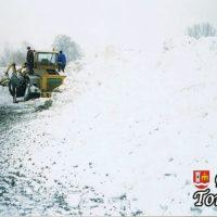 Sroga zima - styczeń 2002 rok