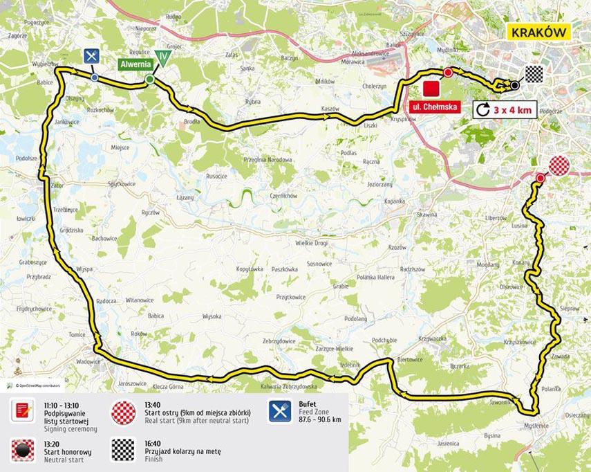 Tour de Pologne znów przejedzie przez Tomice i Radoczę