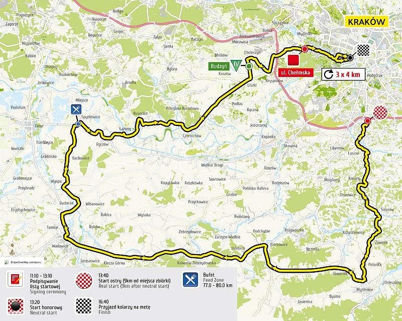 Tour de Pologne zmienia trasę - przejedzie przez całą naszą gminę