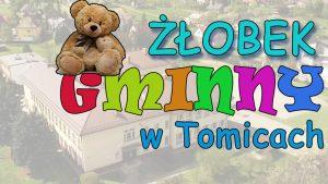Żłobek Gminny w Tomicach z dofinansowaniem