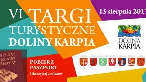 Zaproszenie – VI Targi Turystyczne Doliny Karpia