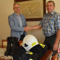 Nowe umundurowanie dla OSP Witanowice