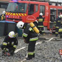 Druhowie ochotnicy ćwiczyli w Tomicach