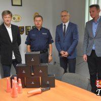 Gmina Tomice wsparła wadowicką komendę Policji