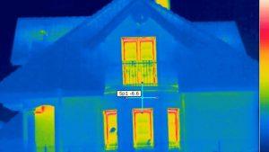 Badania termowizyjne budynków mieszkalnych