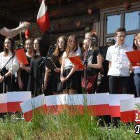 """Patriotyczne śpiewanie przy """"Bałysówce"""""""
