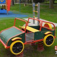 Plac zabaw przy ZSP w Tomicach odebrany