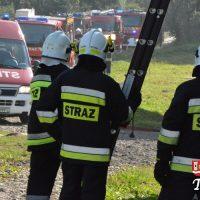 Druhowie strażacy ćwiczyli na obiektach szkolnych w Radoczy
