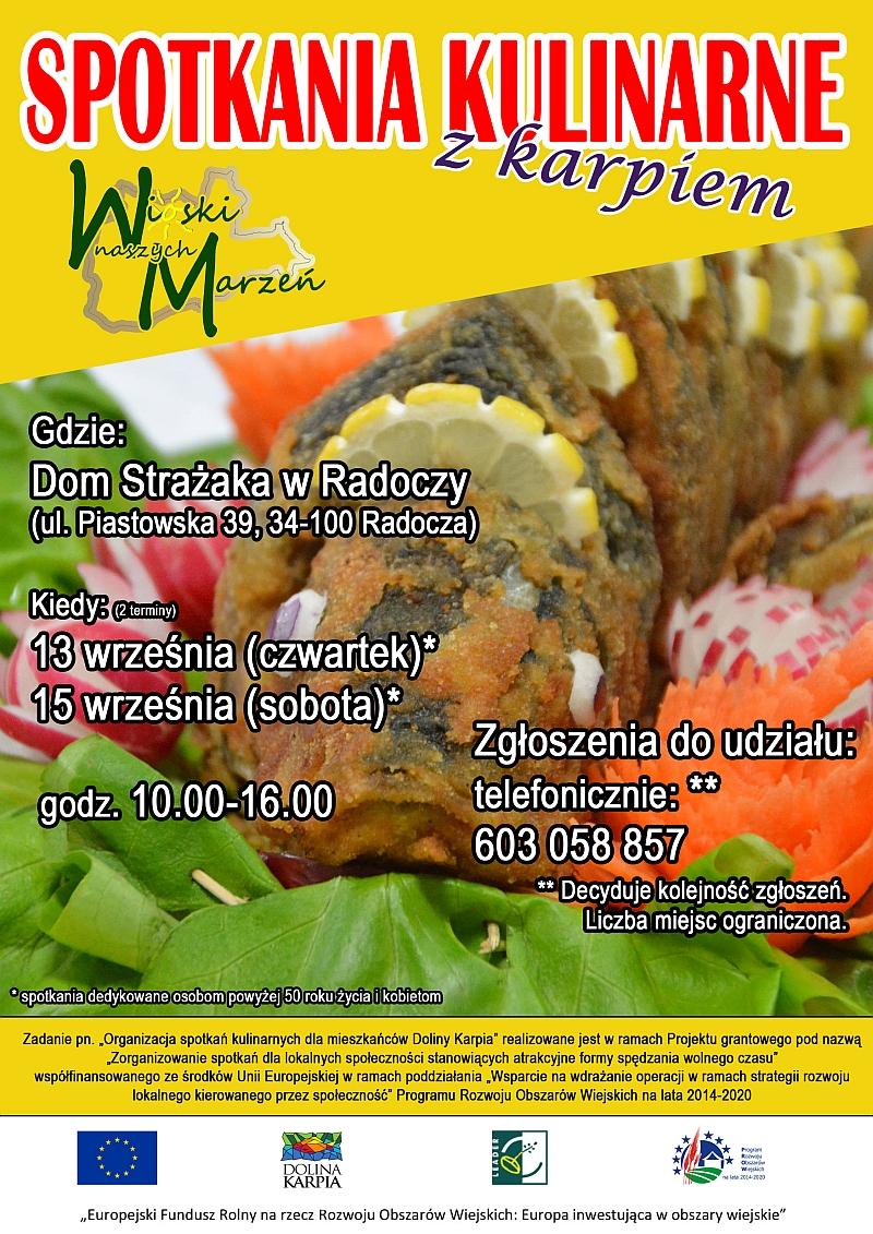 Wioski Naszych Marzeń zapraszają na warsztaty kulinarne