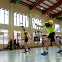 Z sukcesami na Turnieju Ogólnopolskim Badmintona