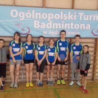 Grad medali badmintonistów