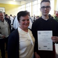 Uczeń z Radoczy wyróżniony w konkursie kulinarnym