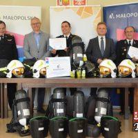 Bezpieczna Małopolska 2019 - strażacy mogą pochwalić się nowym sprzętem