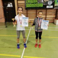 Kolejne sukcesy badmintonistów