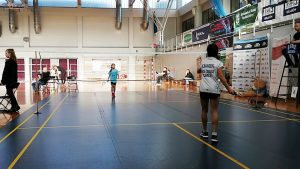 Medale w turniejach badmintona