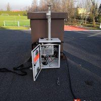 Pomiary jakości powietrza w Zespole Szkolno-Przedszkolnym w Tomicach