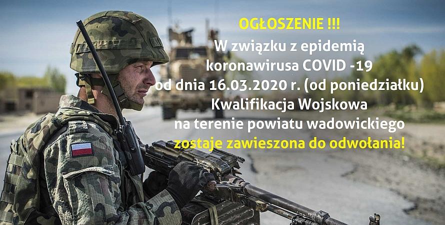 Informacja dla osób podlegających kwalifikacji wojskowej