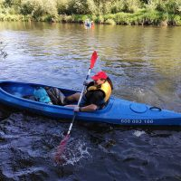 X Sprzątanie rzeki Skawy