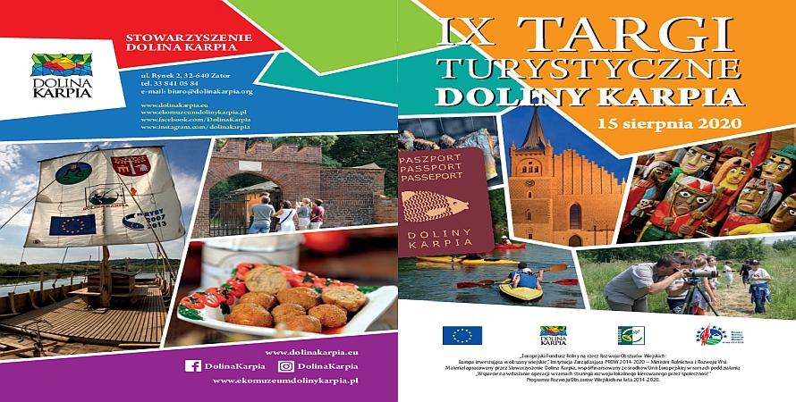 Zaproszenie na IX Targi Turystyczne Doliny Karpia
