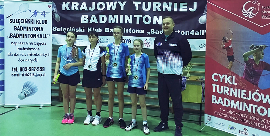 Przejechała 500 km i wywalczyła dwa medale