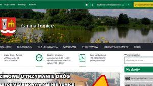 Portal www.tomice.pl w podsumowaniu