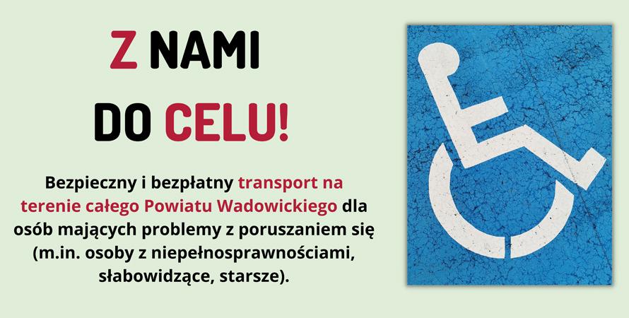 Bezpłatny transport na terenie powiatu wadowickiego