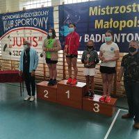 "Medale na badmintonowe ""ostatki"""