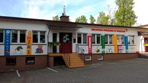 Biblioteka Publiczna w Tomicach z dofinansowaniem