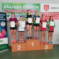 Rewelacyjne rozpoczęcie sezonu badmintonistów